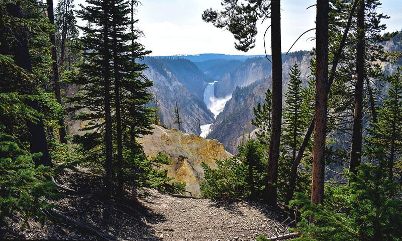 cowboys & indians america event planet group incentive travel riserva naturale bosco con cascata sullo sfondo