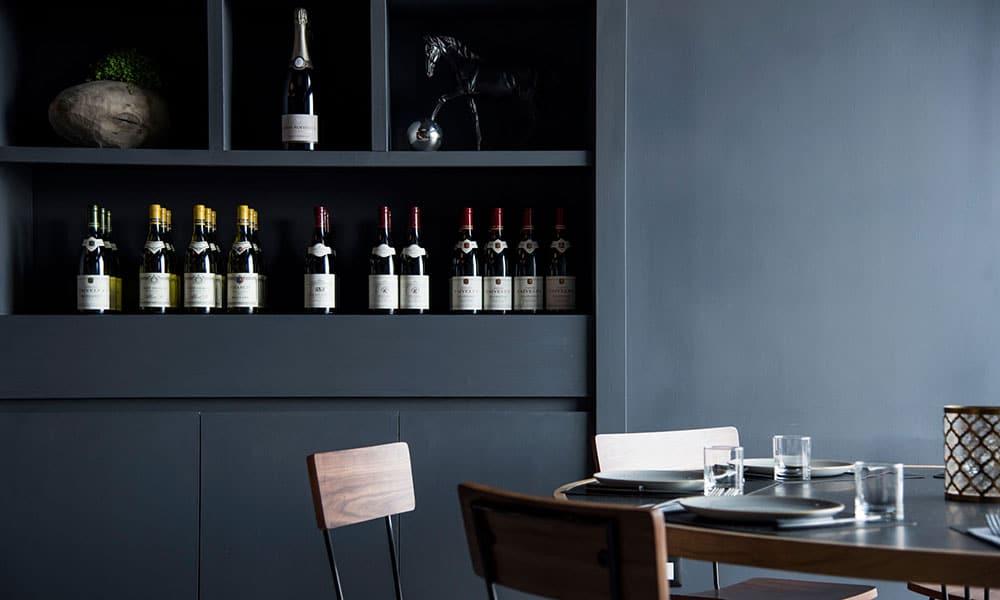fresco caracciolo inaugurazione event planet food & wine dettaglio arredamento interno