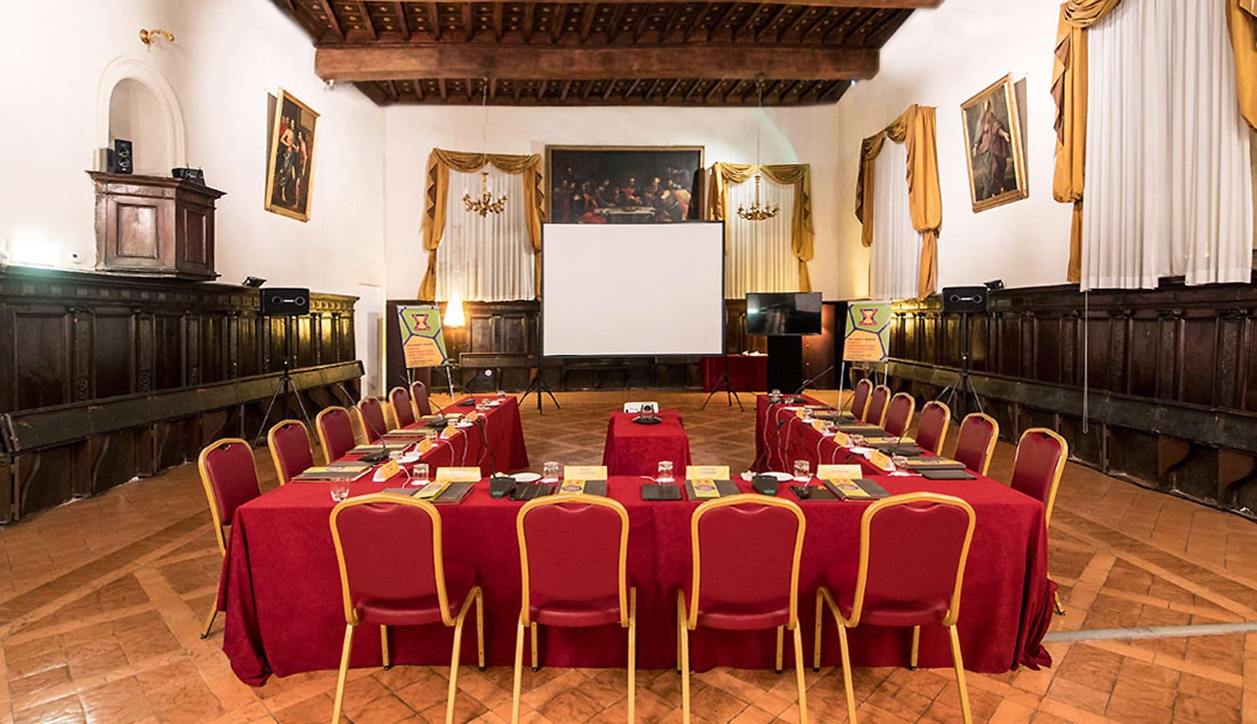 international advisory board event planet group medical & education sala settecentesca in cui si è svolto l'incontro