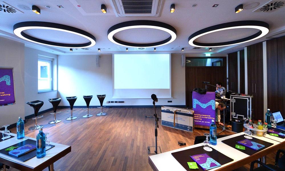 medical marketing meeting francoforte event planet group lavori allestimento tecnico
