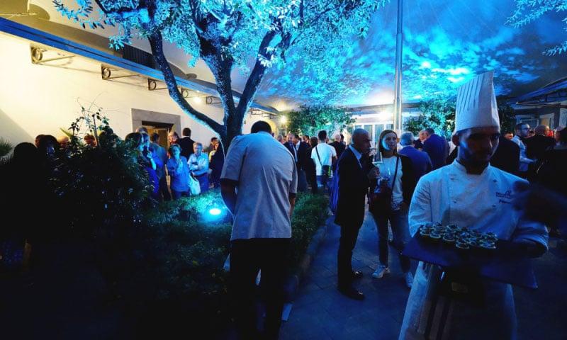 pizzaunesco contest event planet group food & wine buffet di apertura serata
