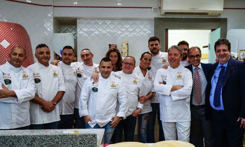 pizzaunesco contest event planet group food & wine pizzaioli partecipanti finalisti