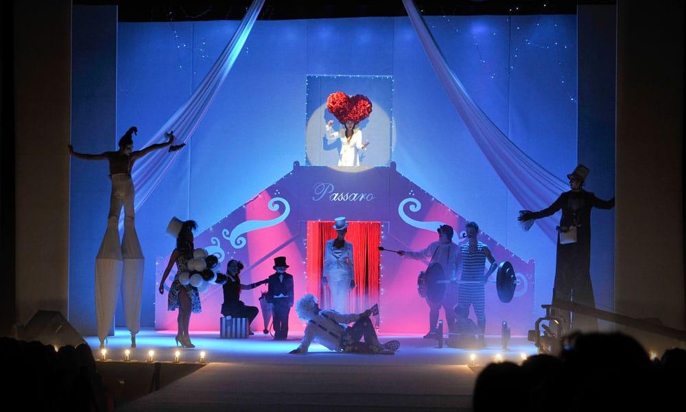 sfilate moda passaro sposa event planet group conference event scenografia