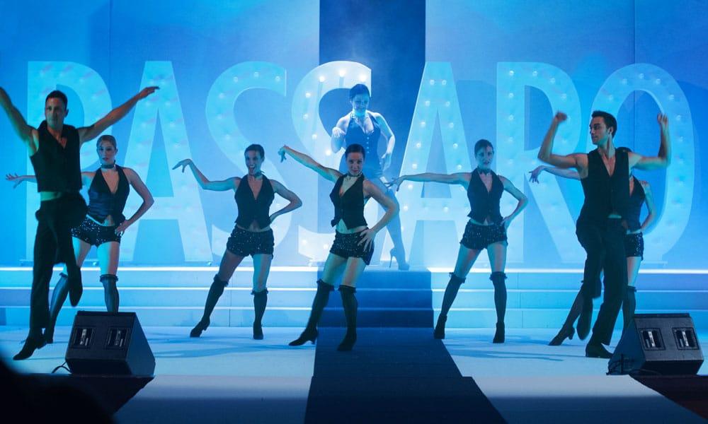 sfilate moda passaro sposa event planet group conference event coreografia danza
