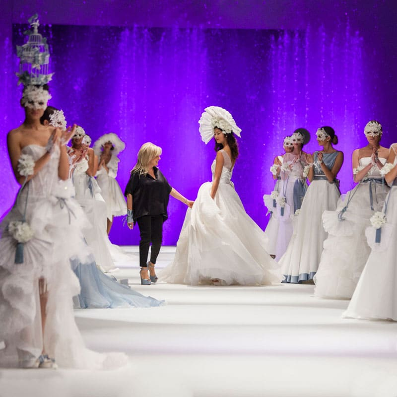 sfilate moda passaro sposa event planet group conference event anteprima