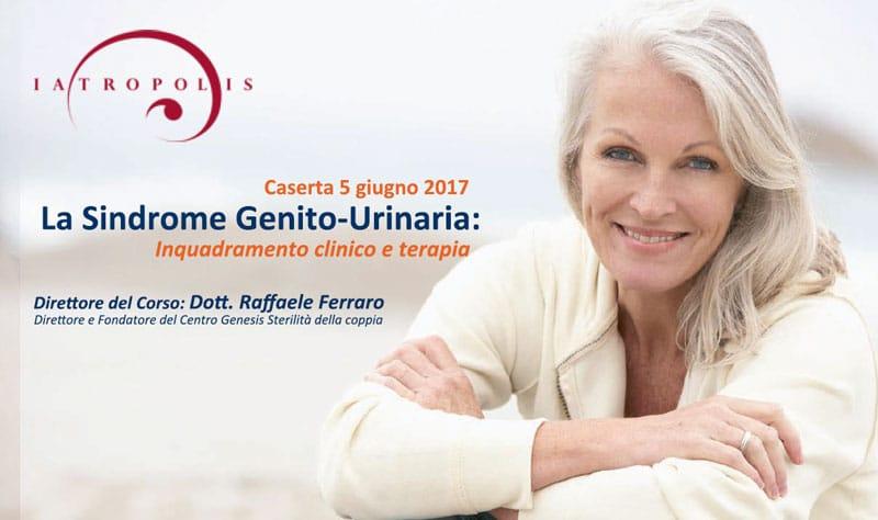 Copertina Evento: La sindrome genito-urinaria: inquadramento clinico e terapia. Archivio Eventi 2017